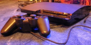 playstation 3 slim mit controller