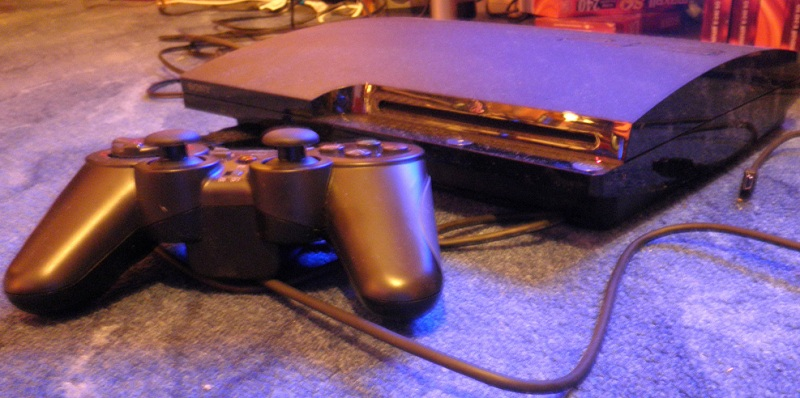 playstation 3 slim mit controller