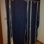 Stoffkleiderschrank XL Kleiderschrank Campingschrank Faltschrank