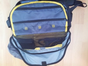 Innentaschen des Taschendeckels Cullmann Fototasche