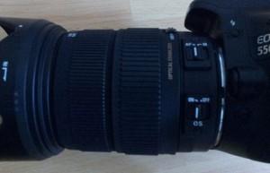 Sigma Objektiv OS und AF 18-200mm