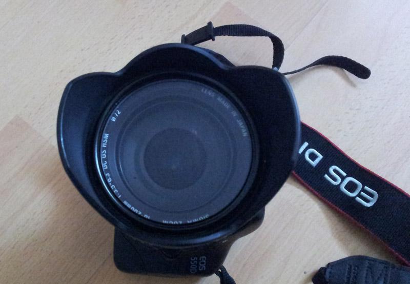 Sigma Objektiv front 18-200mm