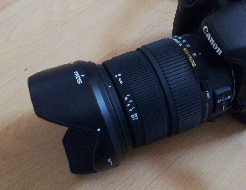 Sigma Objektiv 18 -200 mm