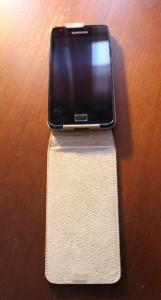 Hama Smartphonetasche aufgeklappt