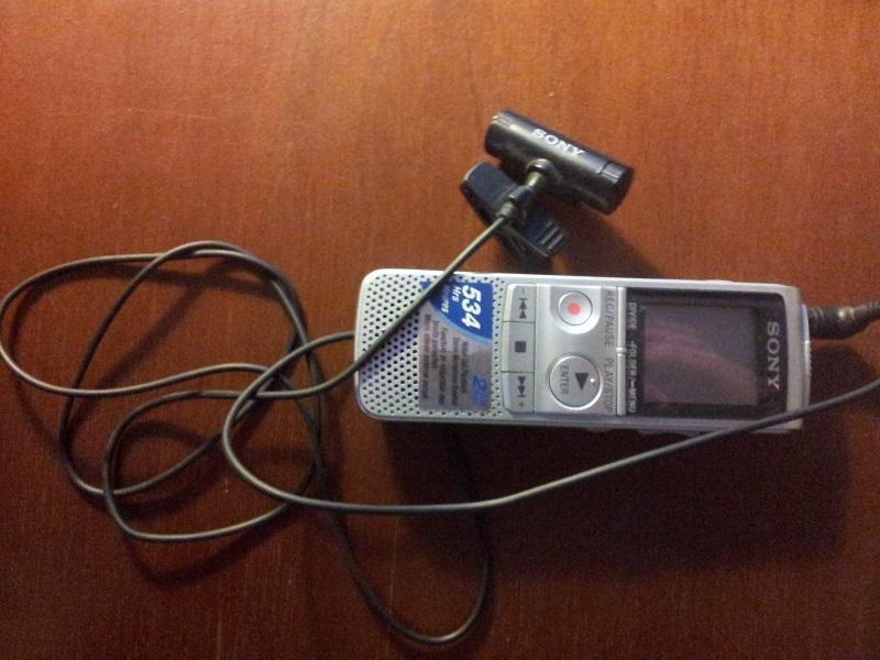 Sony IC Recorder Diktiergeraet