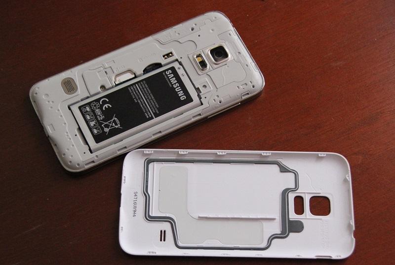 Samsung Galaxy S5 Mini Rueckklappe
